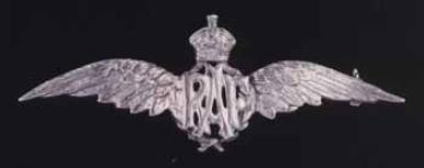 WW II Royal Air Force (RAF) Sterling Silver Pin