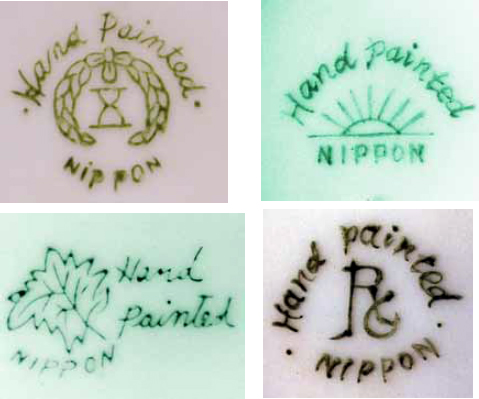 New Porcelain Marked Nippon