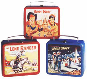 Classic 1950s Metal Lunch Boxes