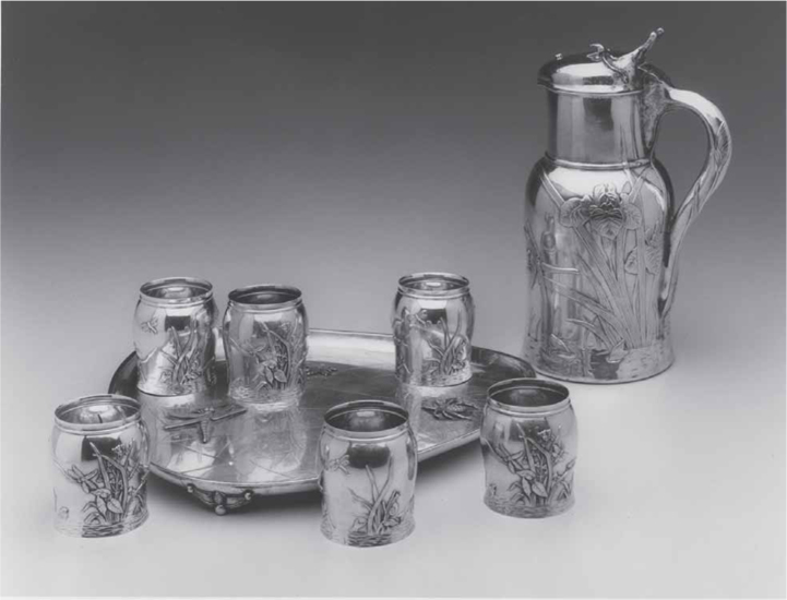 Tiffany Silver Water Set Faked