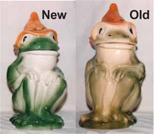 Hillbilly Frog Cookie Jar Notes