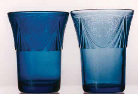 New Tumblers in Royal Lace Pattern
