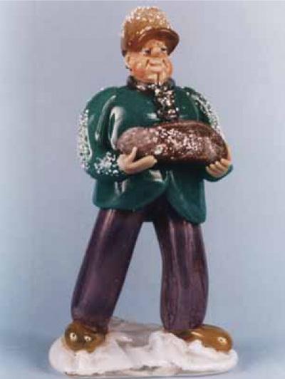Occupational Czech Glass Figurines