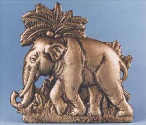 Cast Iron Elephant Doorstop