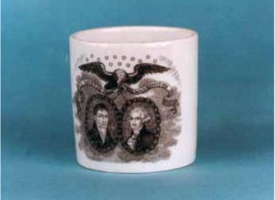 Lafayette-Washington Mug from 1976 Bicentennial