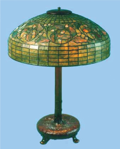 Faked Tiffany lamp nearly fools experts