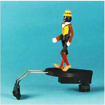 Black Figure Phonograph Spindle Toy Copied