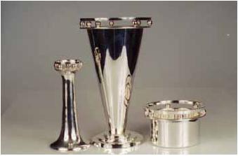 New Art Deco Silver Plate
