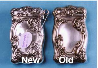 Sterling Silver Matchsafe Copied - American Art Nouveau
