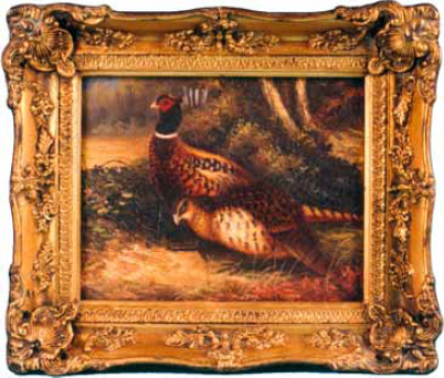 Victorian Oil Paintings from Europe