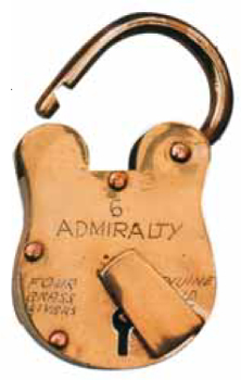 Repro padlock looks old