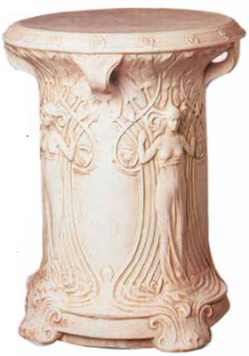 New plaster pieces have look of age