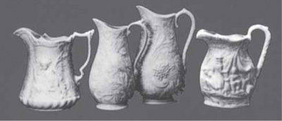 English Molded Jugs Reproduced