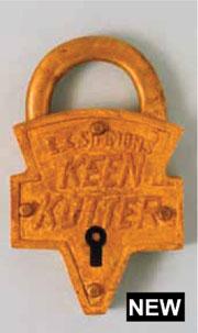 New Keen Kutter padlock