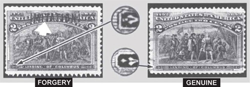 Forgeries of Common Stamps and Information on Who Made Them
