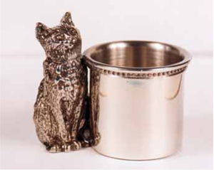Silver Plate Toothpick Holder