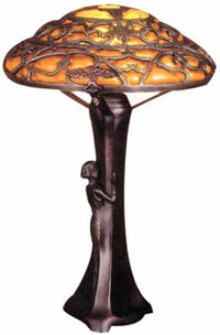 imitations and knock offs of art nouveau lamps. Black Bedroom Furniture Sets. Home Design Ideas