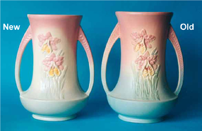 New Hull Pottery Orchid Vase