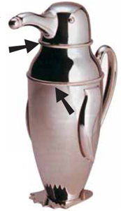 Another Variation of Classic Art Deco Shaker