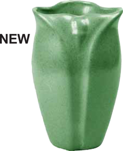 New Pottery Similar to Original Grueby and Teco Shapes