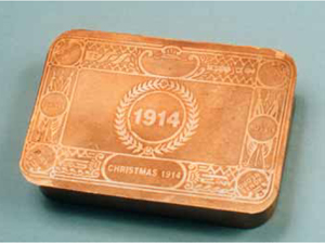 Brass Candy Box Dated 1914