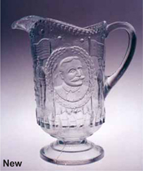 Admiral Dewey Pitcher Reproduced
