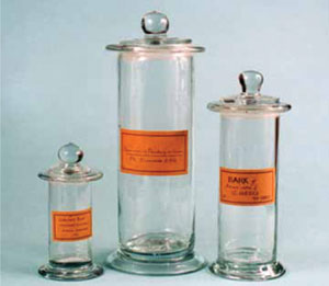 Confusing Apothecary Style Bottles and Jars with Dated Labels