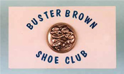 1970s Buster Brown Pins Made into Vintage Collectibles