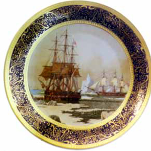 Fantasy Limoges Mark on Plates Made in China