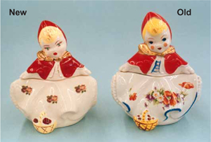 Little Red Riding Hood Pottery Reproductions