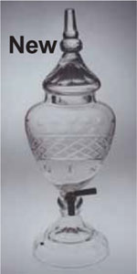 Update on glass liquor urns