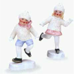 New Snow Babies from Old Molds