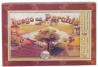Lithographed Board Games in Victorian Style