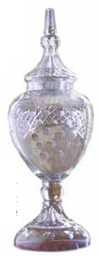 Cut glass urn update