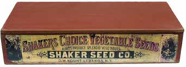 New Shaker Seed Boxes