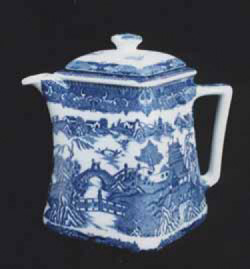 Blue Transferware: Flo Blue, Ironstone, Blue Willow, Staffordshire