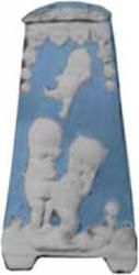 Kewpie Hatpin Holders Copied
