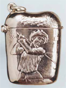 Sterling Silver Matchsafes with Sporting Themes