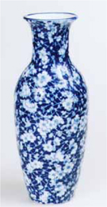 New Pottery Resembles Old Chintz
