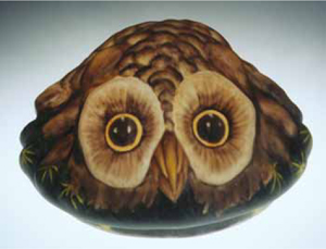 New Pairpoint Owl lamp