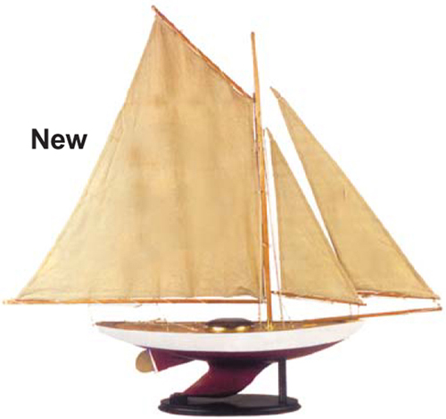 Fig 1 new pond sailboat is a fully functional sailboat length 30