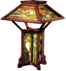 Craftsman-style Lamp