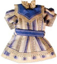 New Doll Clothes in Period Fabrics & Styles