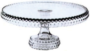 Pressed Cake Stand Reissued