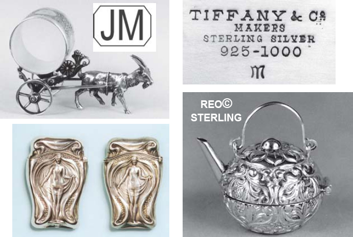 Confusing Marks On Sterling Silver And Silver Plate