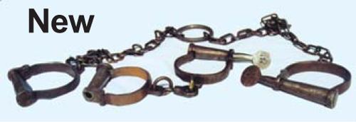 New Handcuffs, Leg Irons, Shackles