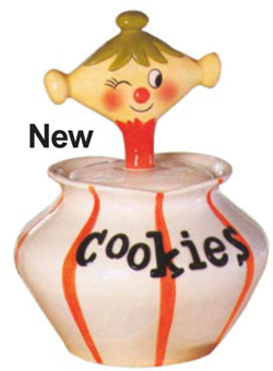 New Cookie Jar Copies Holt-Howard Pixieware