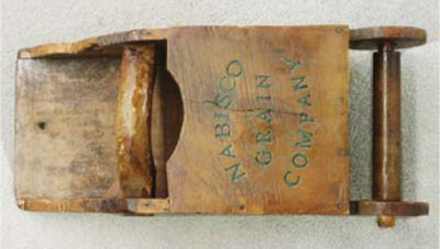 Chinese grain scoop marked Nabisco