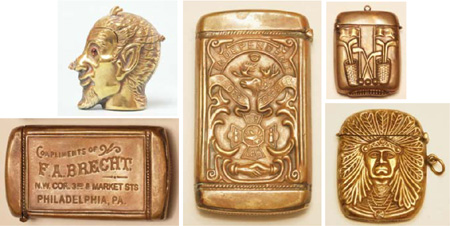 New brass match safes