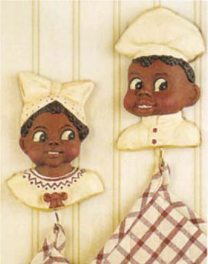 Black Americana - Reproduction Kitchen Hooks